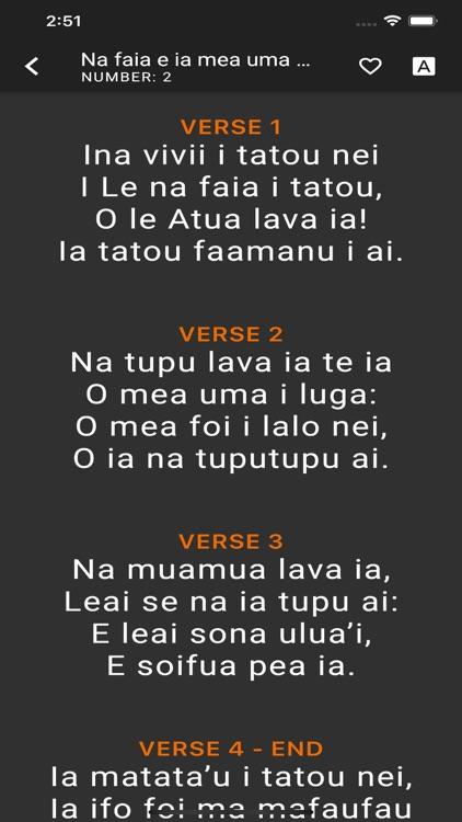 Samoan Hymn