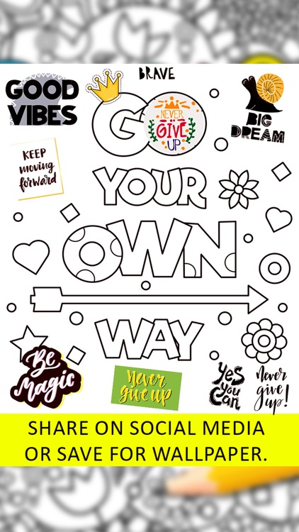 Quotes Coloring Pages screenshot-8