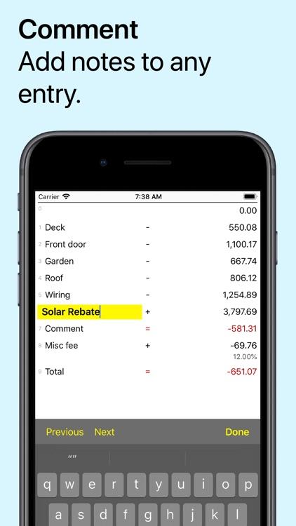 Digits Tape Calculator screenshot-3