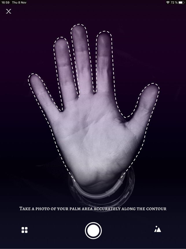 Palm Reading Scanner on the App Store