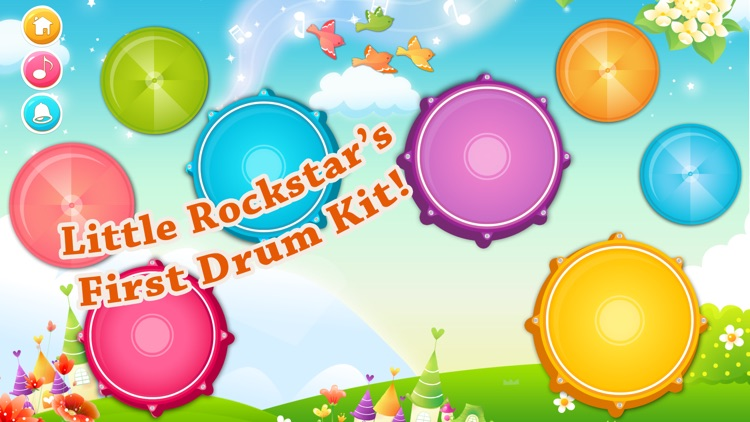 Babies Drums Kit - Colorful!