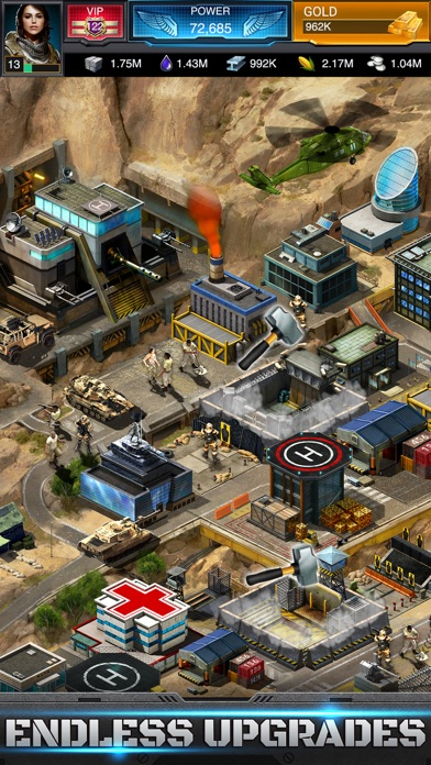 Screenshot from Mobile Strike