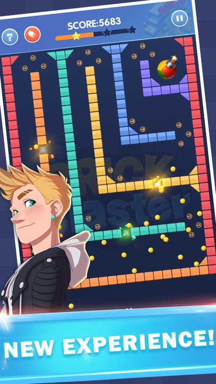 Brick Blaster - Ball Game