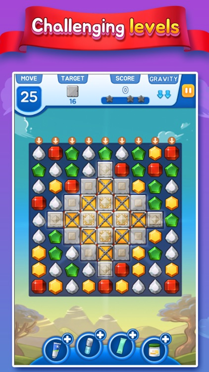Pin-up Match 3 Puzzle Game