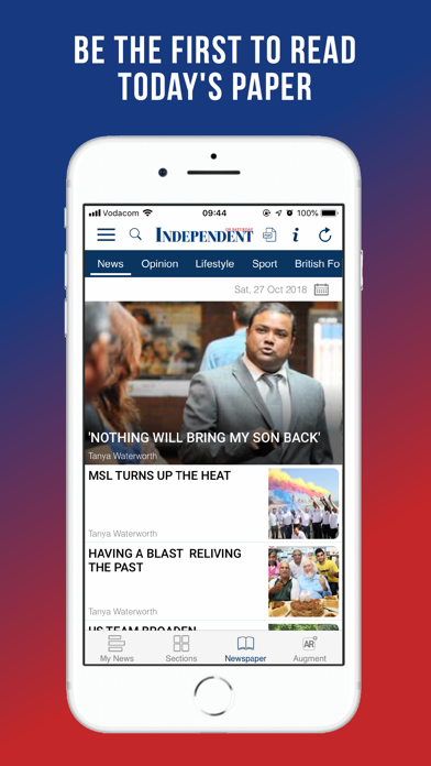 Image of Independent on Saturday for iPhone