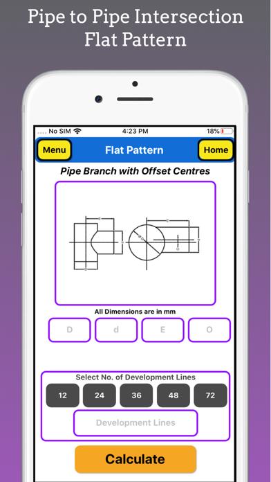 Flat Pattern Pro screenshot 2