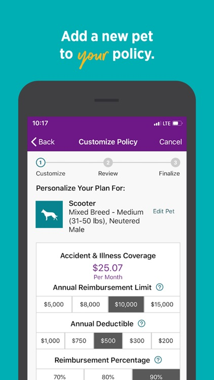 Embrace Pet Insurance screenshot-5