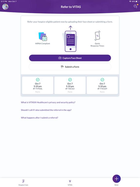 Vitas Innovative Hospice Care screenshot
