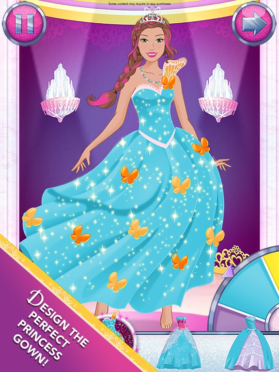 Barbie Magical Fashion iPad app afbeelding 2