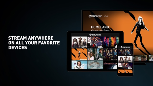 Showtime Anytime on the App Store