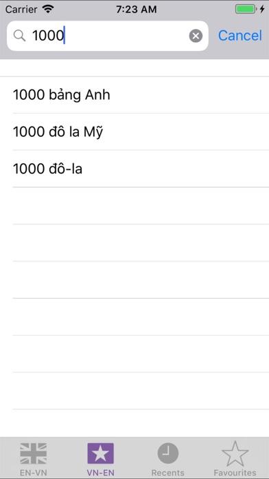 Dic English Vietnamese screenshot four