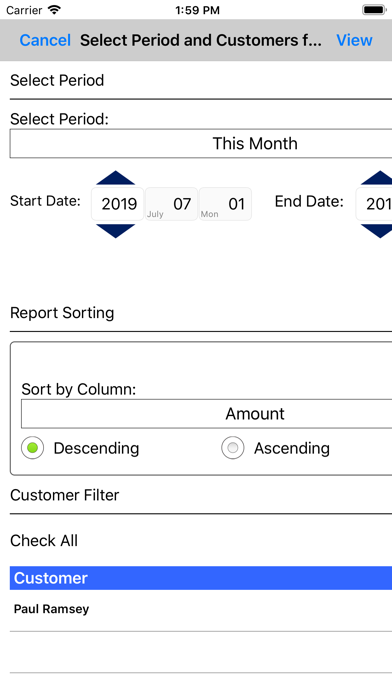 Express Invoice InvoicingScreenshot of 5