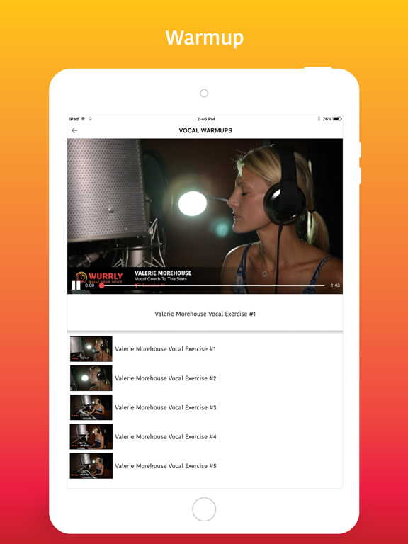 Wurrly: The Ultimate Singing App screenshot