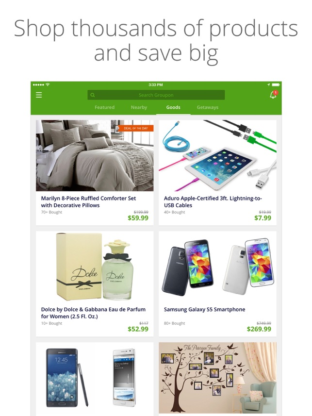 Groupon on the App Store