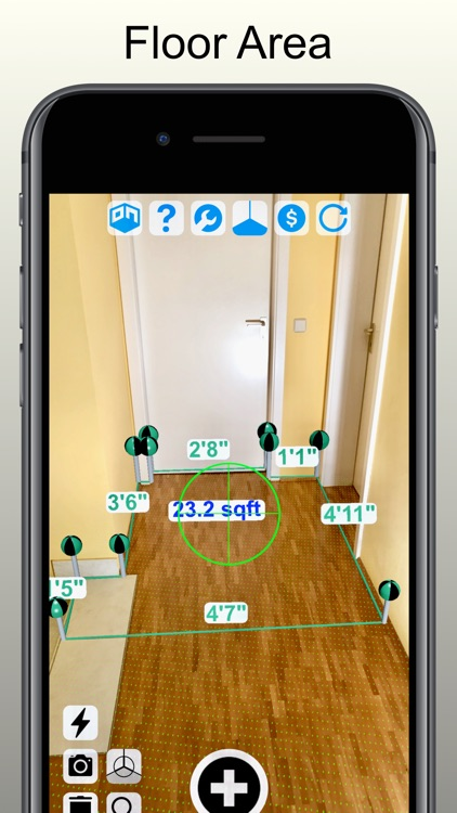Tape Measure Camera Ruler AR screenshot-0