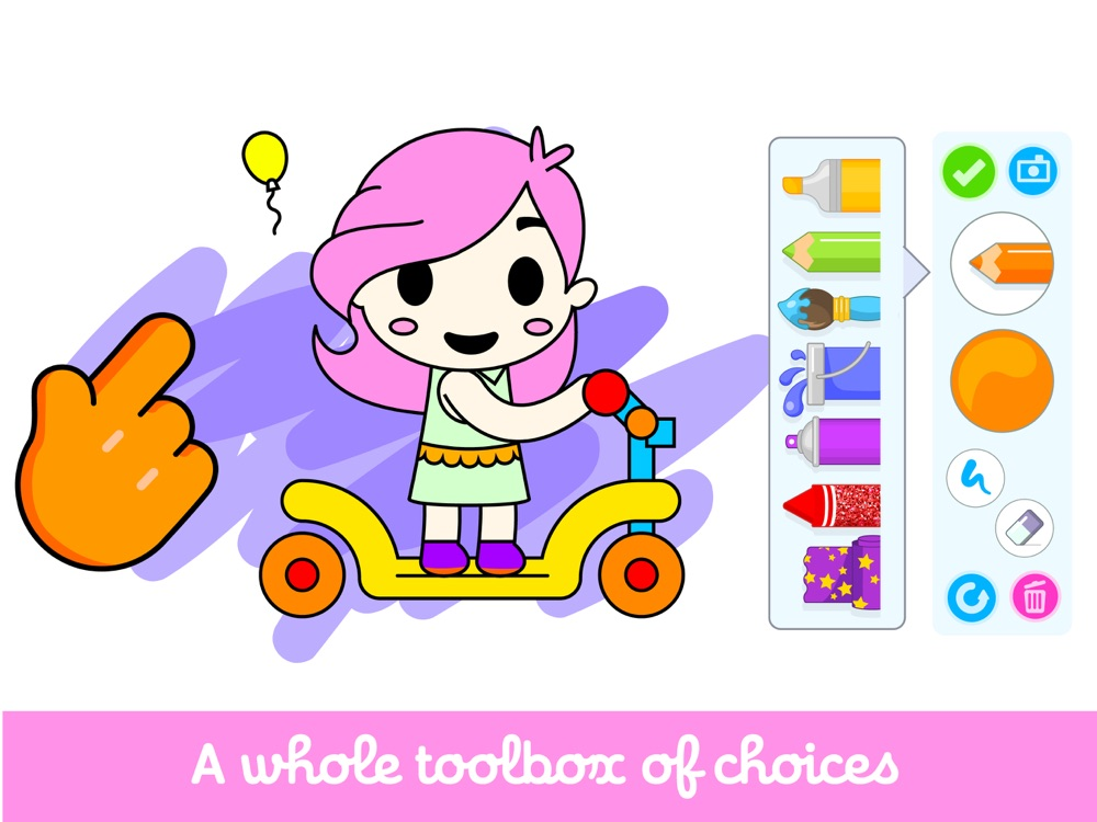 Kids Coloring Game For Toddler App for iPhone - Free ...