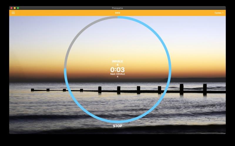 Pranayama Breathing Yoga Timer for Mac
