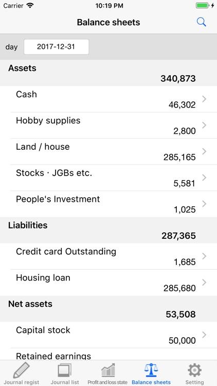 Profit and loss statement screenshot-4