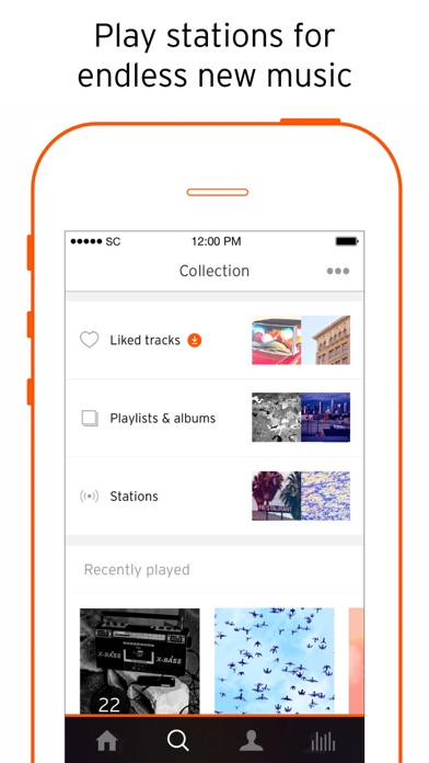 Screenshot for SoundCloud - Music & Audio in Sweden App Store