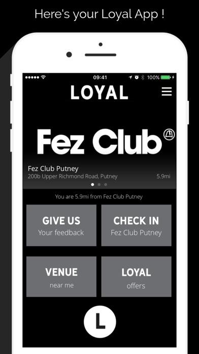 The Loyal App screenshot three