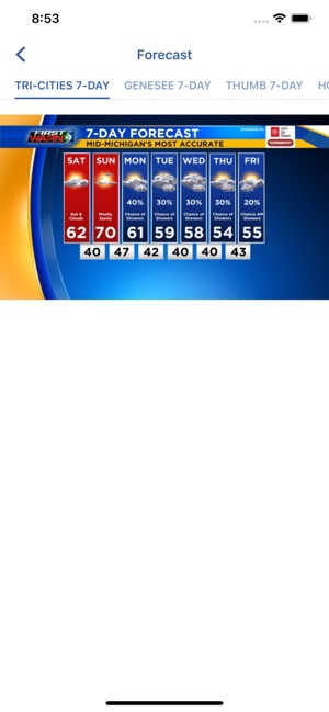 WNEM TV5 Weather on the App Store
