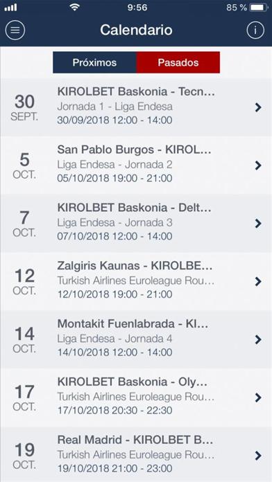 Saski Baskonia screenshot three