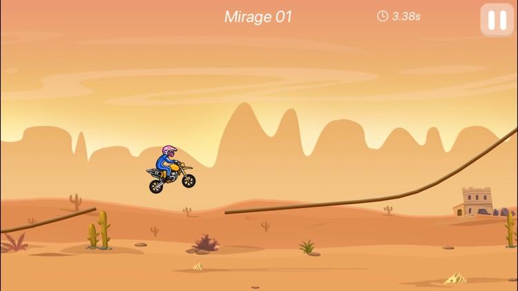 Racing in Moto-bike games