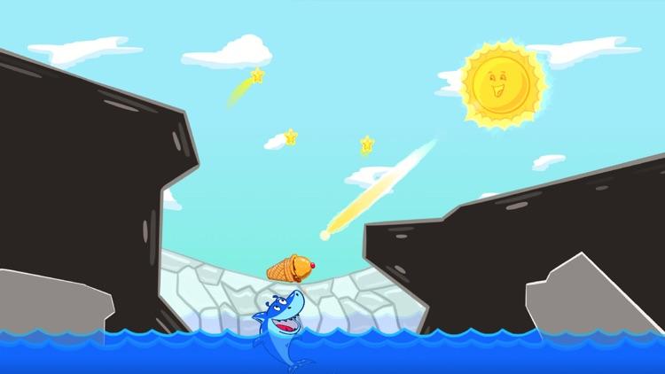 Ice Cream Mixer: Shark Games L screenshot-0