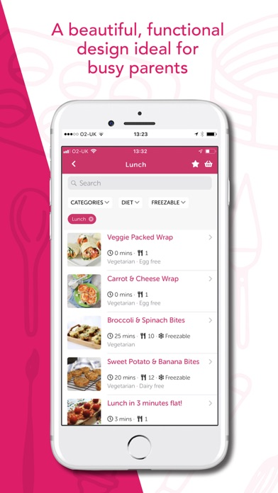 Screenshot for Baby Led Weaning Recipes in United Kingdom App Store