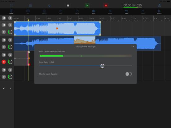 EZAudioCut(MT)-Audio Editor Screenshots