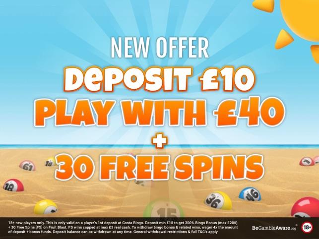 Costa Bingo - Real Money Games on the App Store