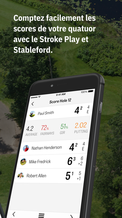Screenshot for Golfshot Plus: Golf GPS in France App Store