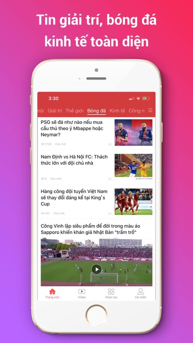 Screenshot for VN Ngày Nay in Viet Nam App Store