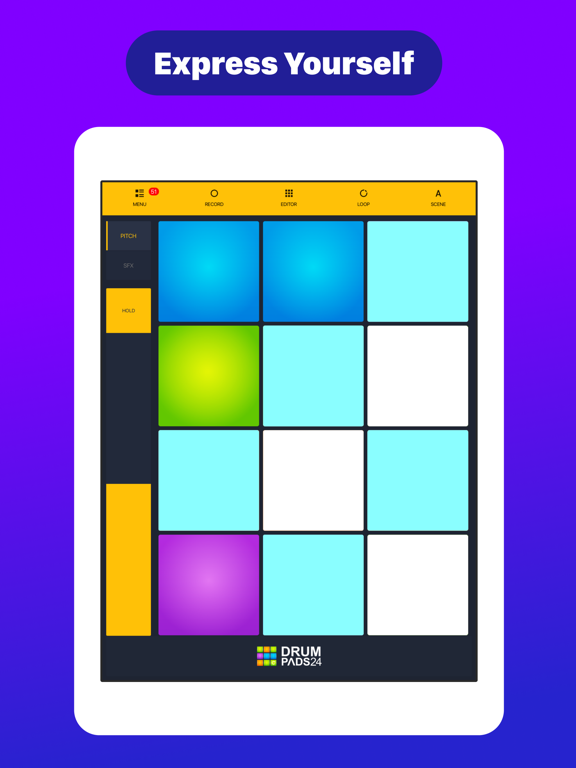 Drum Pads 24 - Beats Maker-ipad-2