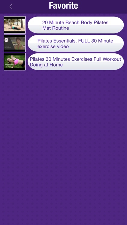 Pilates Fitness Workout Videos screenshot-1