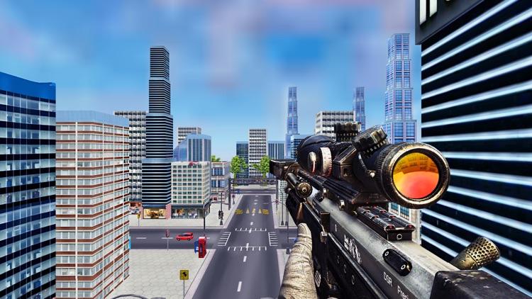 Sniper-Man Gun Shooting Games screenshot-5