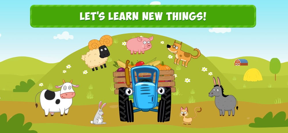 Blue Tractor: Game for Toddler Cheat Codes