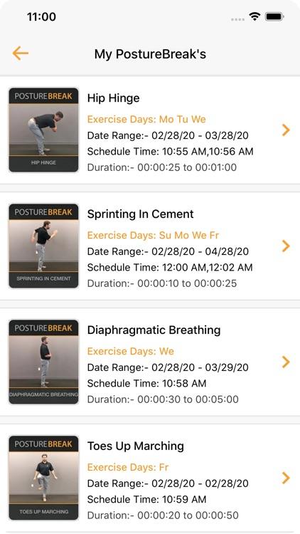 The PostureBreak App screenshot-4