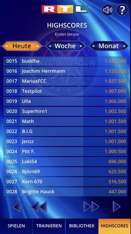 Wer wird Millionär? Training screenshot-9
