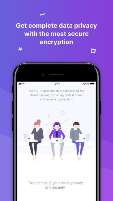 Swift VPN - Best Proxy Shield Screenshot