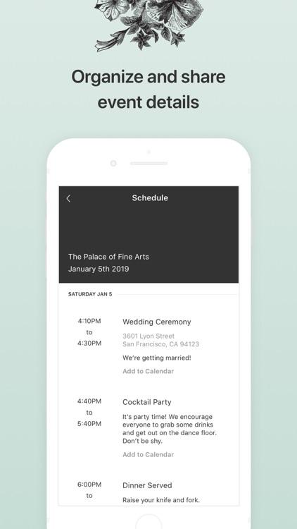 Joy - Wedding App & Website screenshot-7