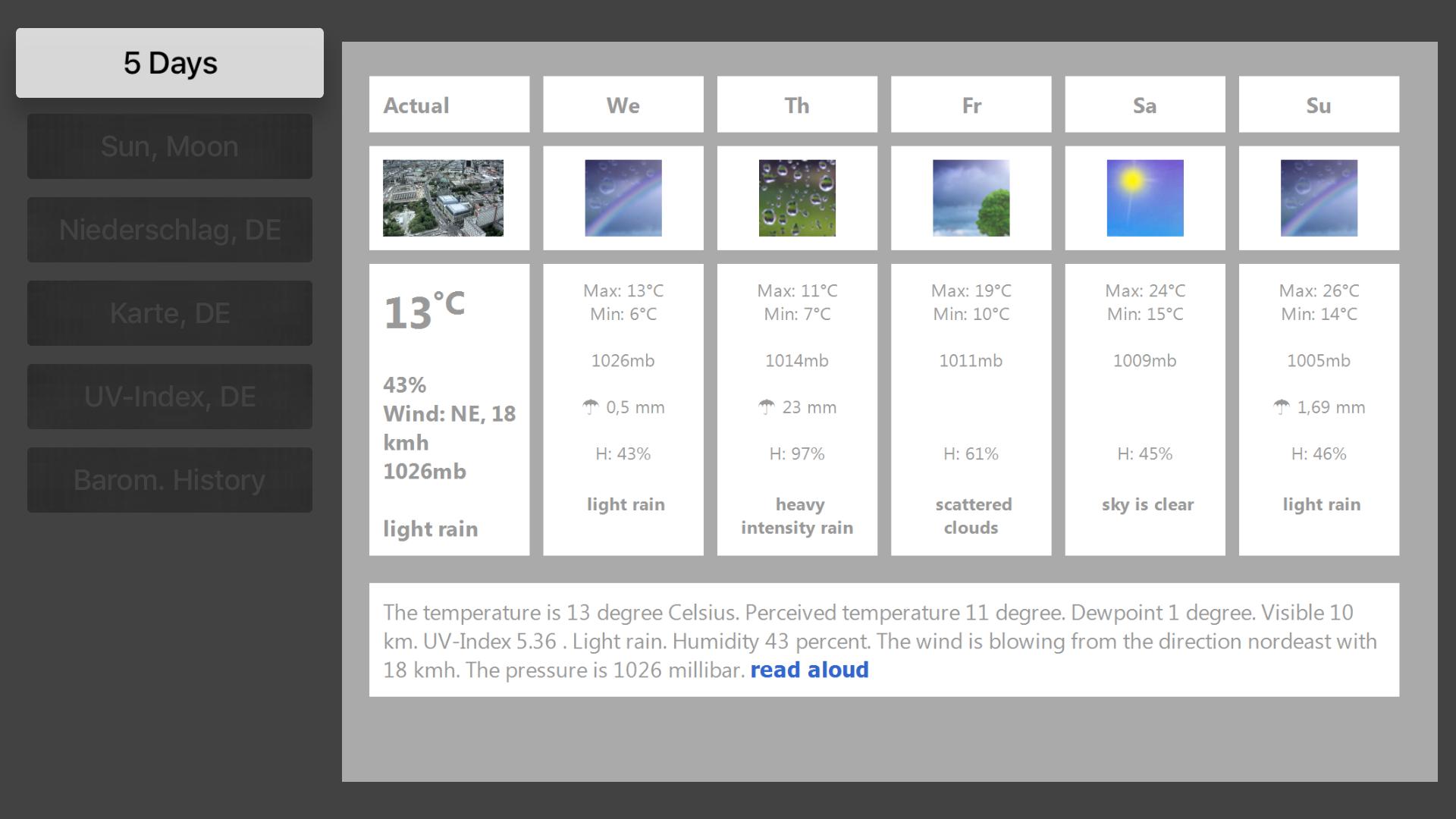 TV Beach Weather screenshot 2