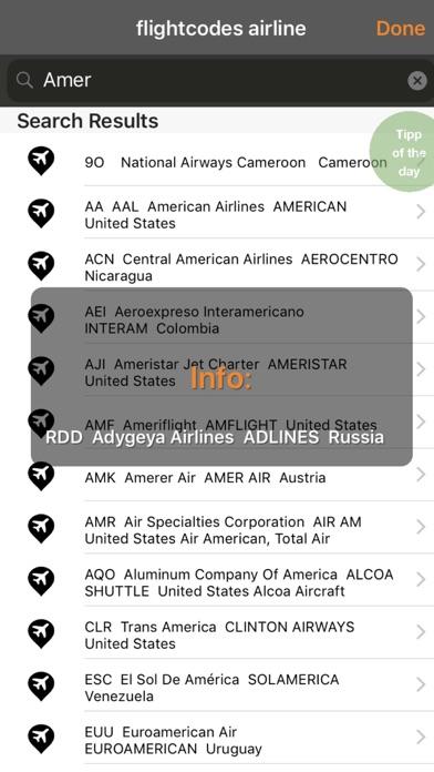 flight codes airlineのおすすめ画像3