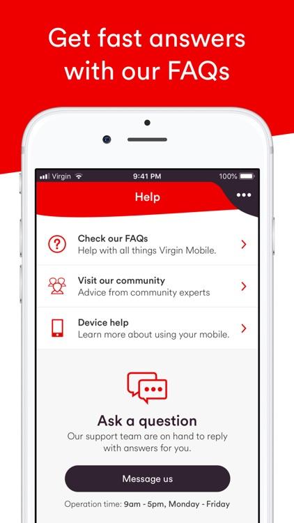 Virgin Mobile Account screenshot-8