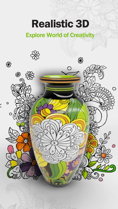 Paint.ly 3D: Pottery Art Color screenshot 1