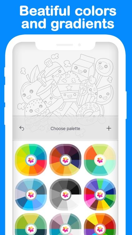 CREATIFY | Coloring Book Games screenshot-3