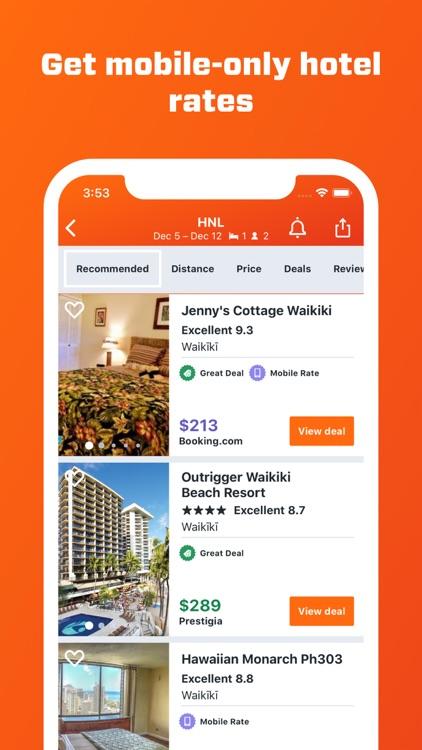 KAYAK Flights, Hotels & Cars screenshot-6