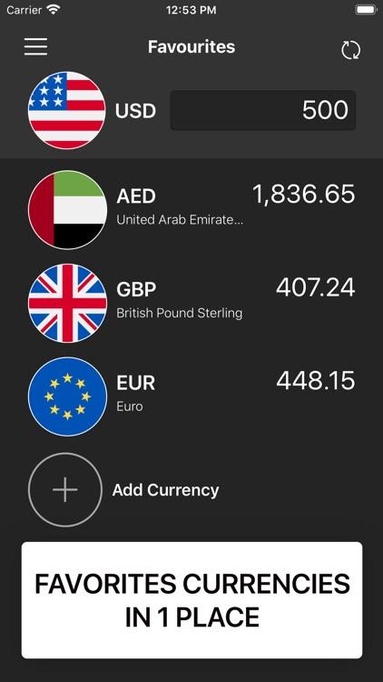 Convee Currency Exchange Rate screenshot-3