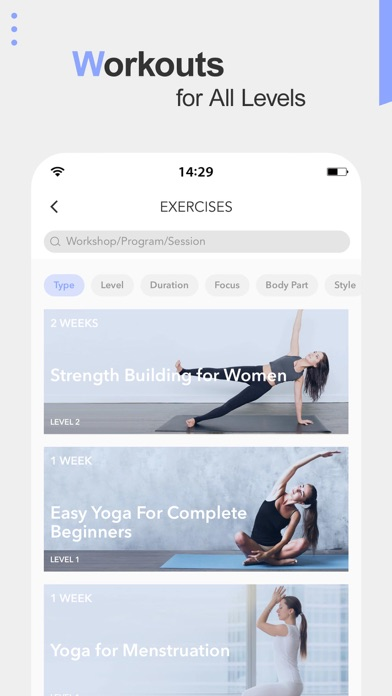 Screenshot for Daily Yoga - Workout & Fitness in Czech Republic App Store