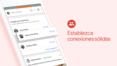 Screenshot for Google+ para G Suite in Colombia App Store